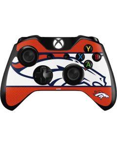 Denver Broncos Zone Block Xbox One Controller Skin