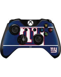 New York Giants Zone Block Xbox One Controller Skin