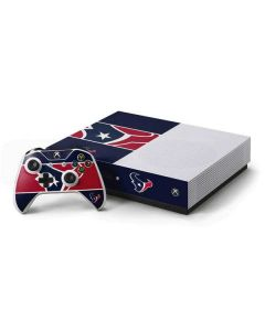 Houston Texans Zone Block Xbox One S Console and Controller Bundle Skin