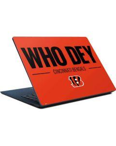 Cincinnati Bengals Team Motto Surface Laptop Skin
