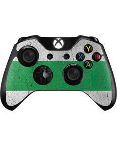 Nigeria Flag Distressed Xbox One Controller Skin