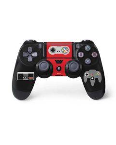 Nintendo Controller Evolution PS4 Pro/Slim Controller Skin