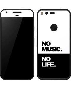 No Music No Life Google Pixel Skin