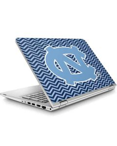 North Carolina Chevron Print ENVY x360 15t-w200 Touch Convertible Laptop Skin