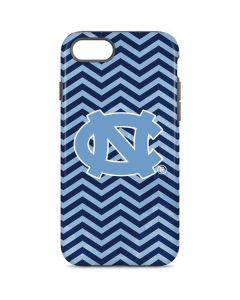 North Carolina Chevron Print iPhone 7 Pro Case
