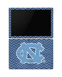 North Carolina Chevron Print Surface Pro 6 Skin