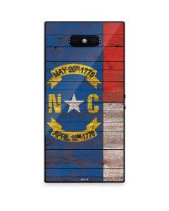 North Carolina Flag Dark Wood Razer Phone 2 Skin