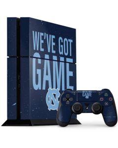 North Carolina Got Game PS4 Console and Controller Bundle Skin