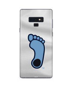 North Carolina Tar Heel Footprint Logo Galaxy Note 9 Skin