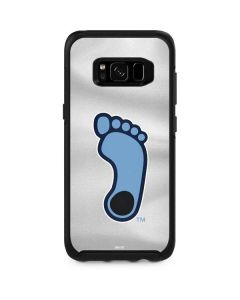 North Carolina Tar Heel Footprint Logo Otterbox Symmetry Galaxy Skin