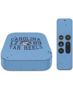 North Carolina Tar Heels 1789 Apple TV Skin