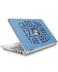 North Carolina Tar Heels 1789 ENVY x360 15t-w200 Touch Convertible Laptop Skin