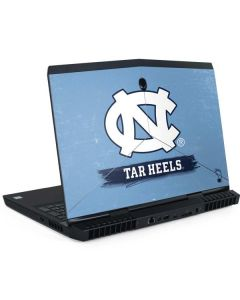 North Carolina Tar Heels Dell Alienware Skin