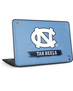 North Carolina Tar Heels HP Chromebook Skin