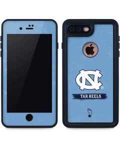 North Carolina Tar Heels iPhone 8 Plus Waterproof Case