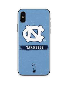 North Carolina Tar Heels iPhone X Skin