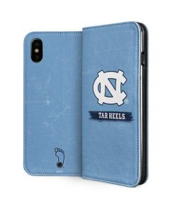 North Carolina Tar Heels iPhone XS Max Folio Case