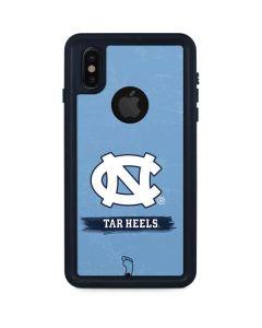 North Carolina Tar Heels iPhone XS Waterproof Case