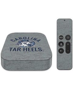 North Carolina Tar Heels Logo Apple TV Skin