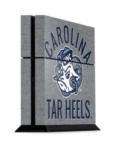 North Carolina Tar Heels Logo PS4 Console Skin