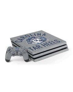 North Carolina Tar Heels Logo PS4 Pro Bundle Skin