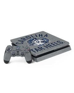 North Carolina Tar Heels Logo PS4 Slim Bundle Skin