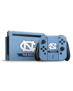 North Carolina Tar Heels Nintendo Switch Bundle Skin