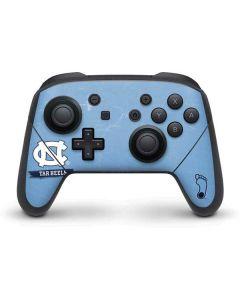 North Carolina Tar Heels Nintendo Switch Pro Controller Skin