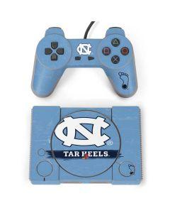 North Carolina Tar Heels PlayStation Classic Bundle Skin
