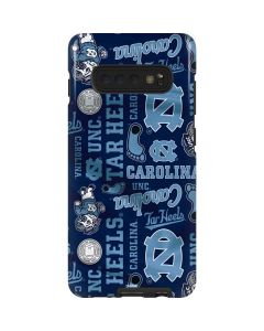 North Carolina Tar Heels Print Galaxy S10 Plus Pro Case