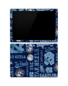 North Carolina Tar Heels Print Google Pixel Slate Skin