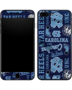 North Carolina Tar Heels Print iPhone 7 Plus Skin