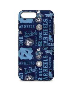 North Carolina Tar Heels Print iPhone 8 Plus Pro Case