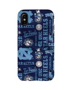 North Carolina Tar Heels Print iPhone X Pro Case