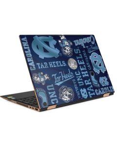 North Carolina Tar Heels Print HP Spectre Skin
