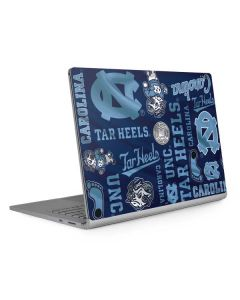 North Carolina Tar Heels Print Surface Book 2 13.5in Skin