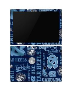 North Carolina Tar Heels Print Surface Pro 6 Skin