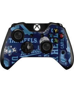 North Carolina Tar Heels Print Xbox One Controller Skin