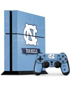 North Carolina Tar Heels PS4 Console and Controller Bundle Skin
