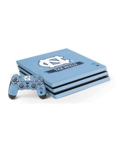 North Carolina Tar Heels PS4 Pro Bundle Skin