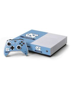 North Carolina Tar Heels Xbox One S Console and Controller Bundle Skin
