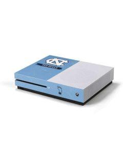 North Carolina Tar Heels Xbox One S Console Skin