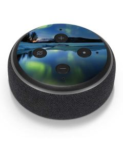 Northern Lights Amazon Echo Dot Skin