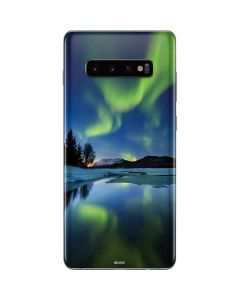 Northern Lights Galaxy S10 Plus Skin