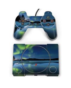 Northern Lights PlayStation Classic Bundle Skin