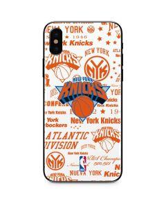 NY Knicks Historic Blast iPhone X Skin