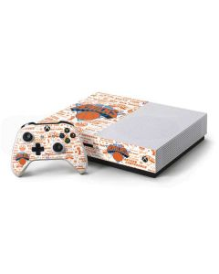 NY Knicks Historic Blast Xbox One S Console and Controller Bundle Skin