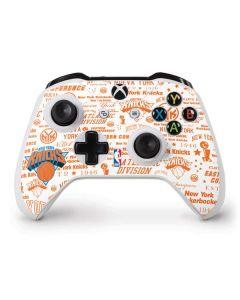 NY Knicks Historic Blast Xbox One S Controller Skin