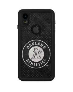 Oakland Athletics Dark Wash iPhone XR Waterproof Case