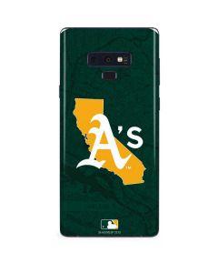 Oakland Athletics Home Turf Galaxy Note 9 Skin
